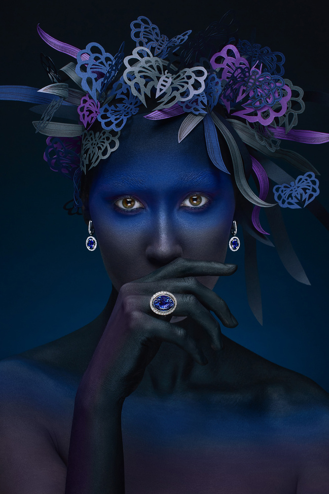 Deep Blue by Alexander Khokhlov
