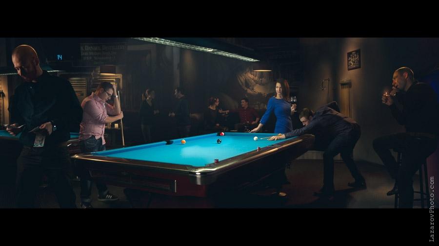Pool game by Tihomir Lazarov