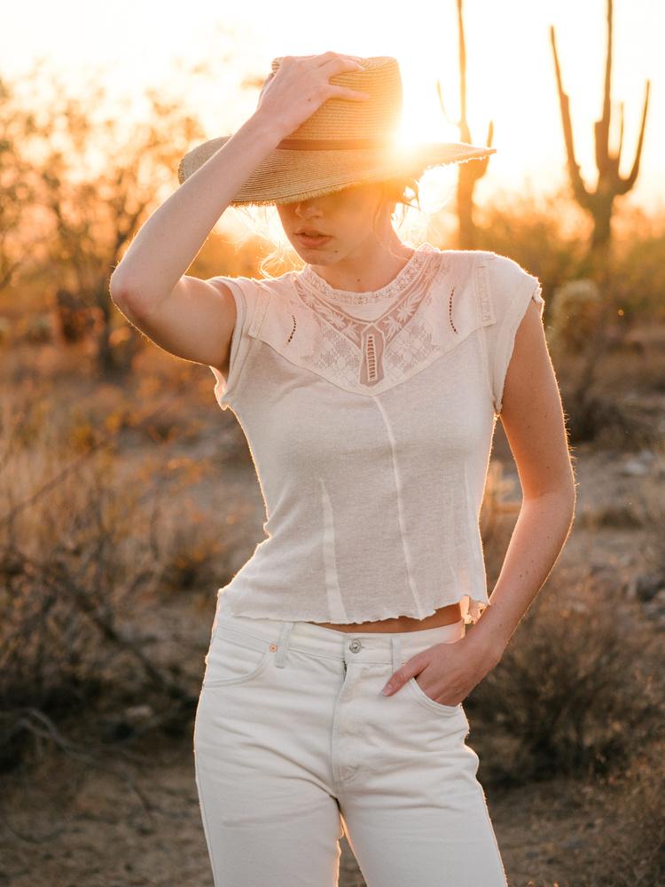 Desert Sunset by Deric Miller