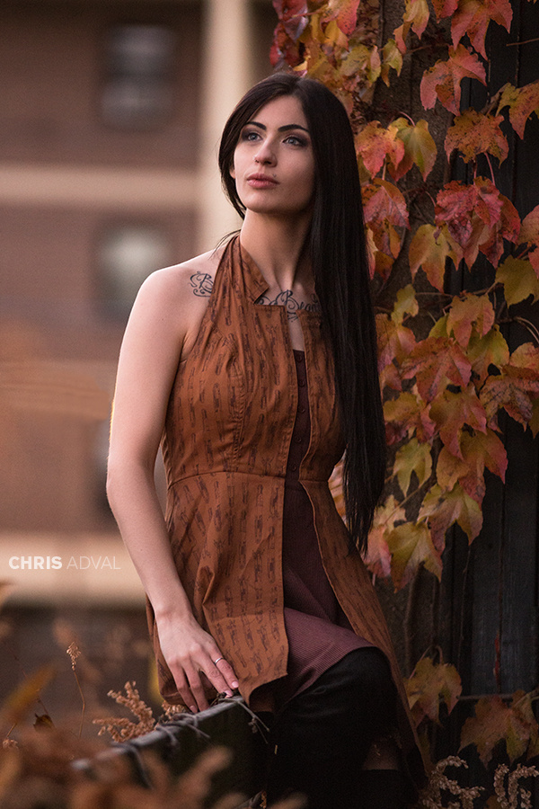 Fall Colors - Natalie by Chris Adval