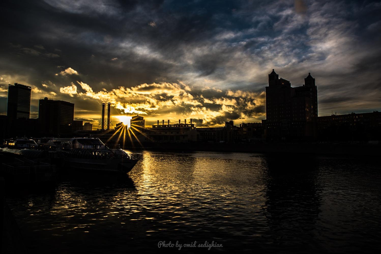River Dawn by omid sedighian