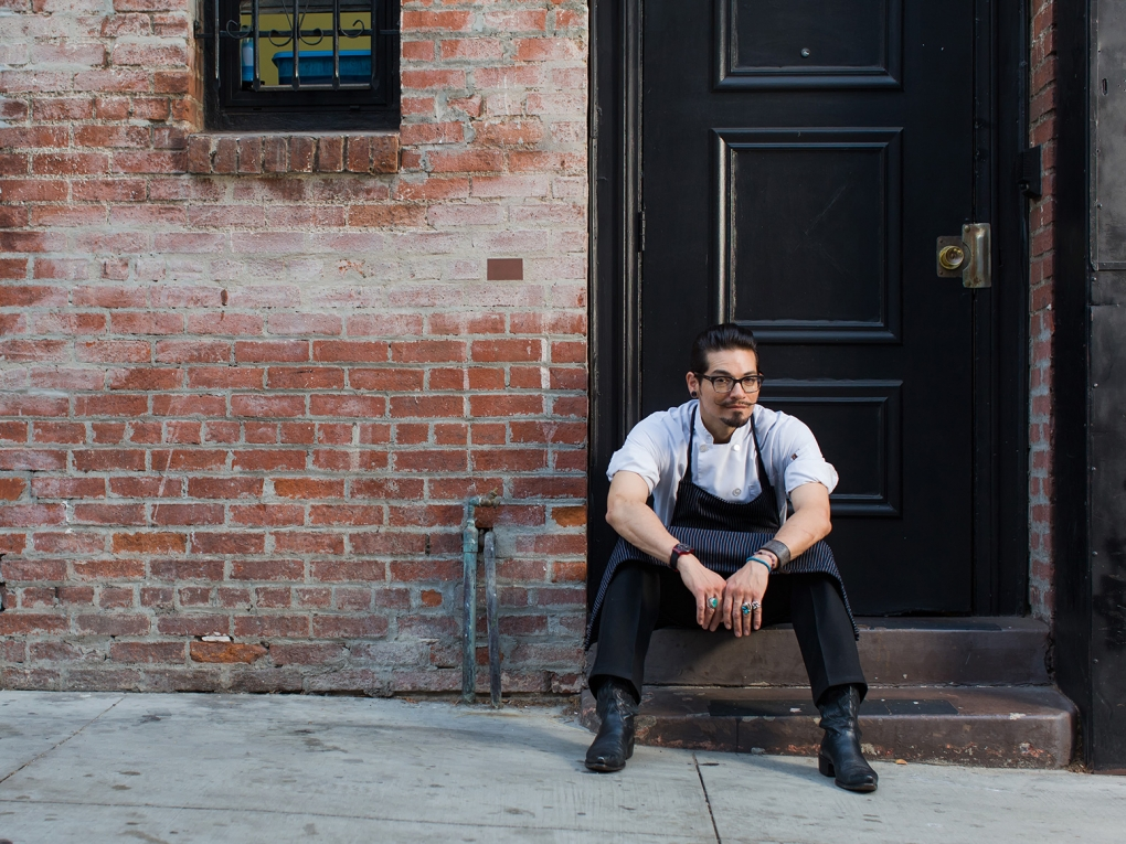Chef on Break by Don Crossland