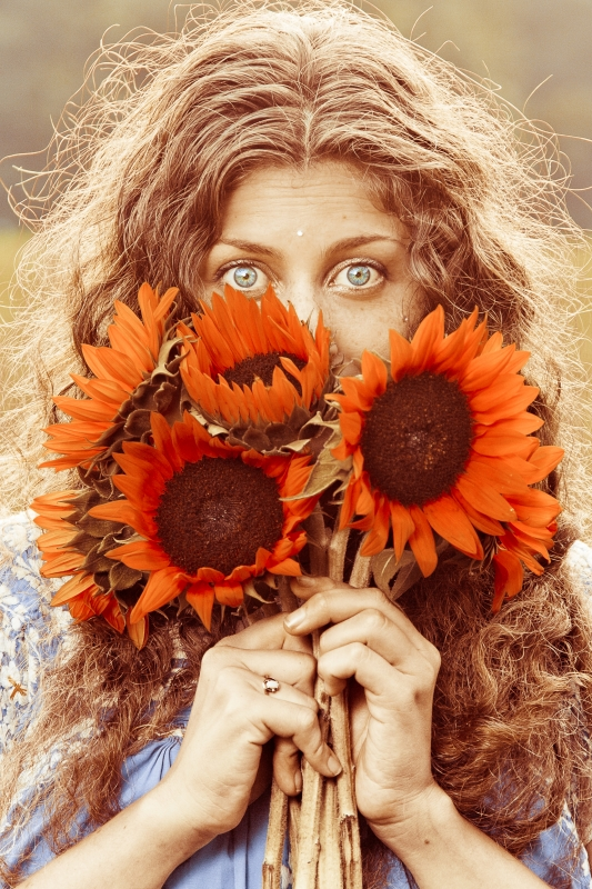 Sunflowers by Mimi Stefanova