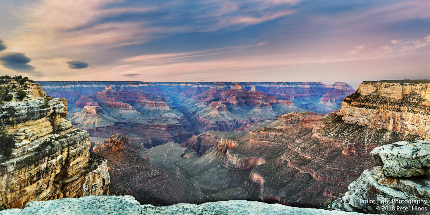 Grand Canyon Dusk by Peter Hines