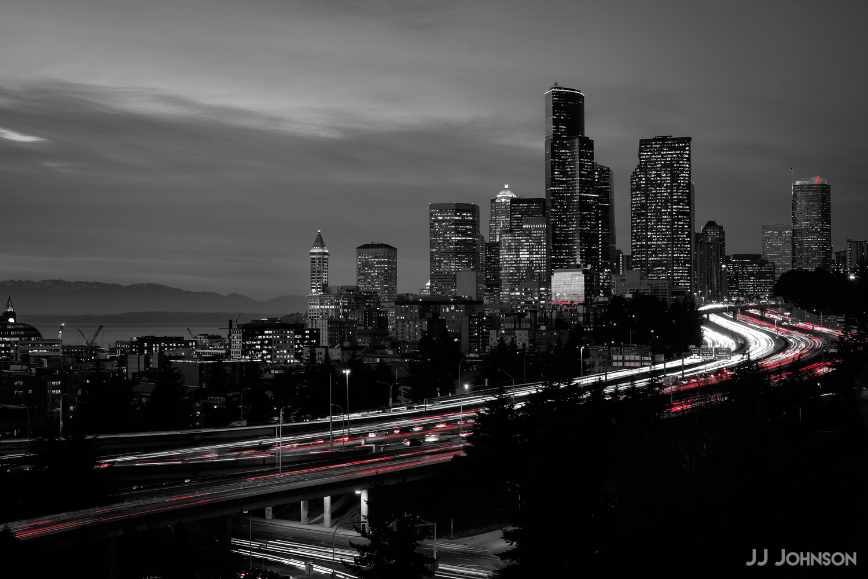 Seattle Rush Hour by JJ Johnson