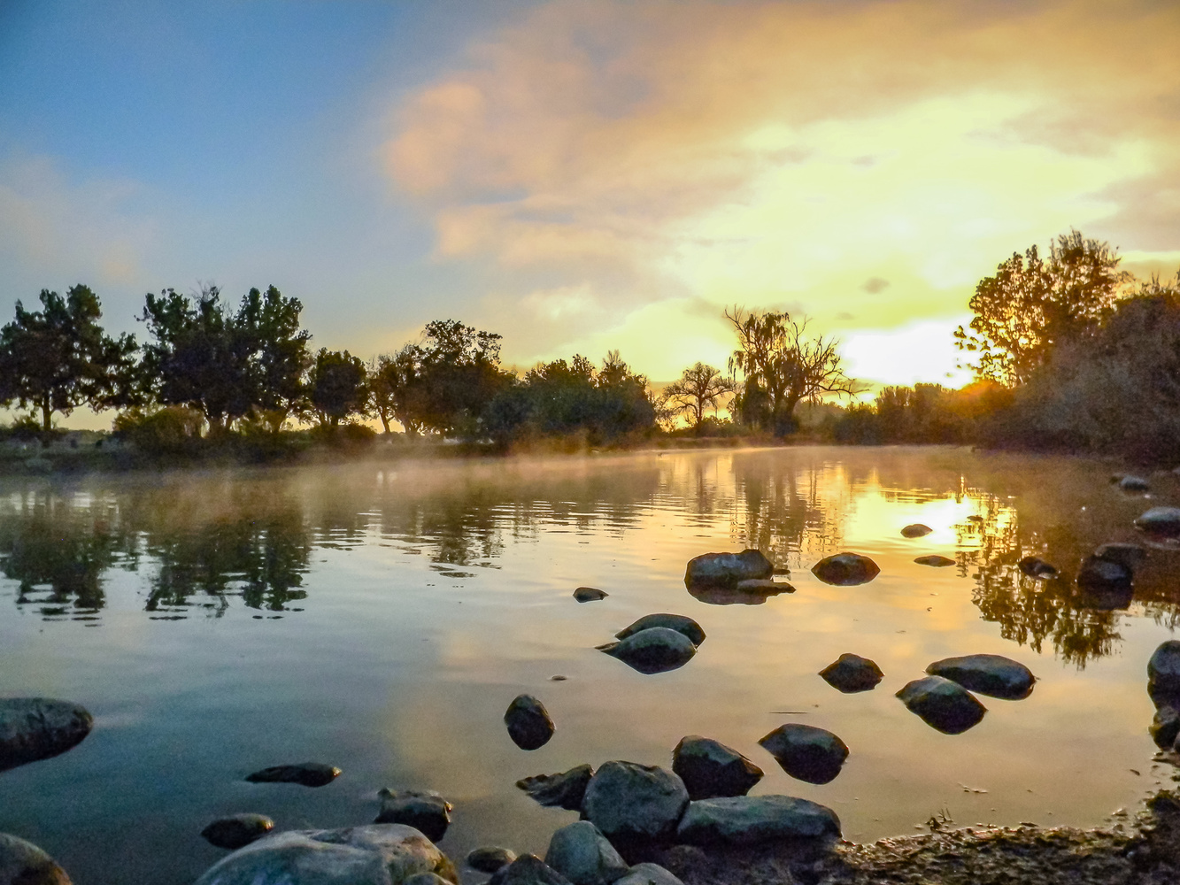 A cool serene morning by Chris Snyder