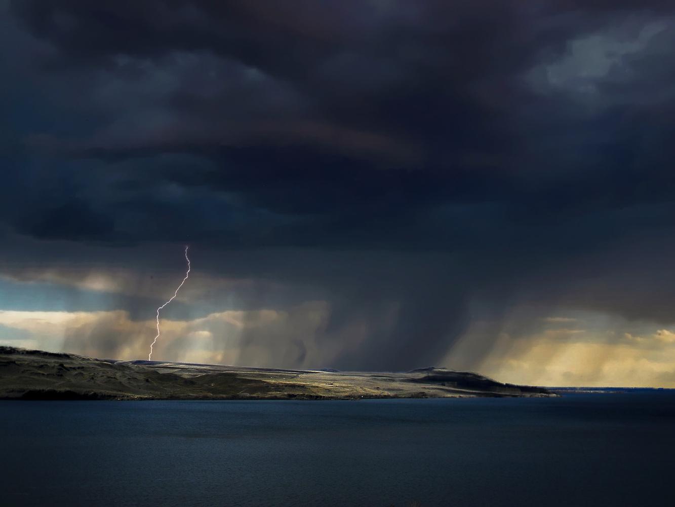 Spring storm #2 by Chris Snyder