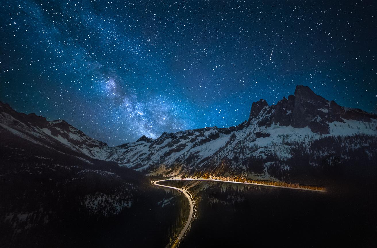 Washington Pass by Scott Eliot
