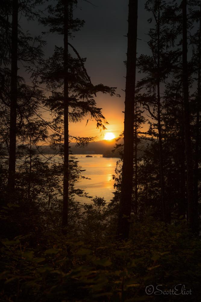 Sooke Sunset by Scott Eliot