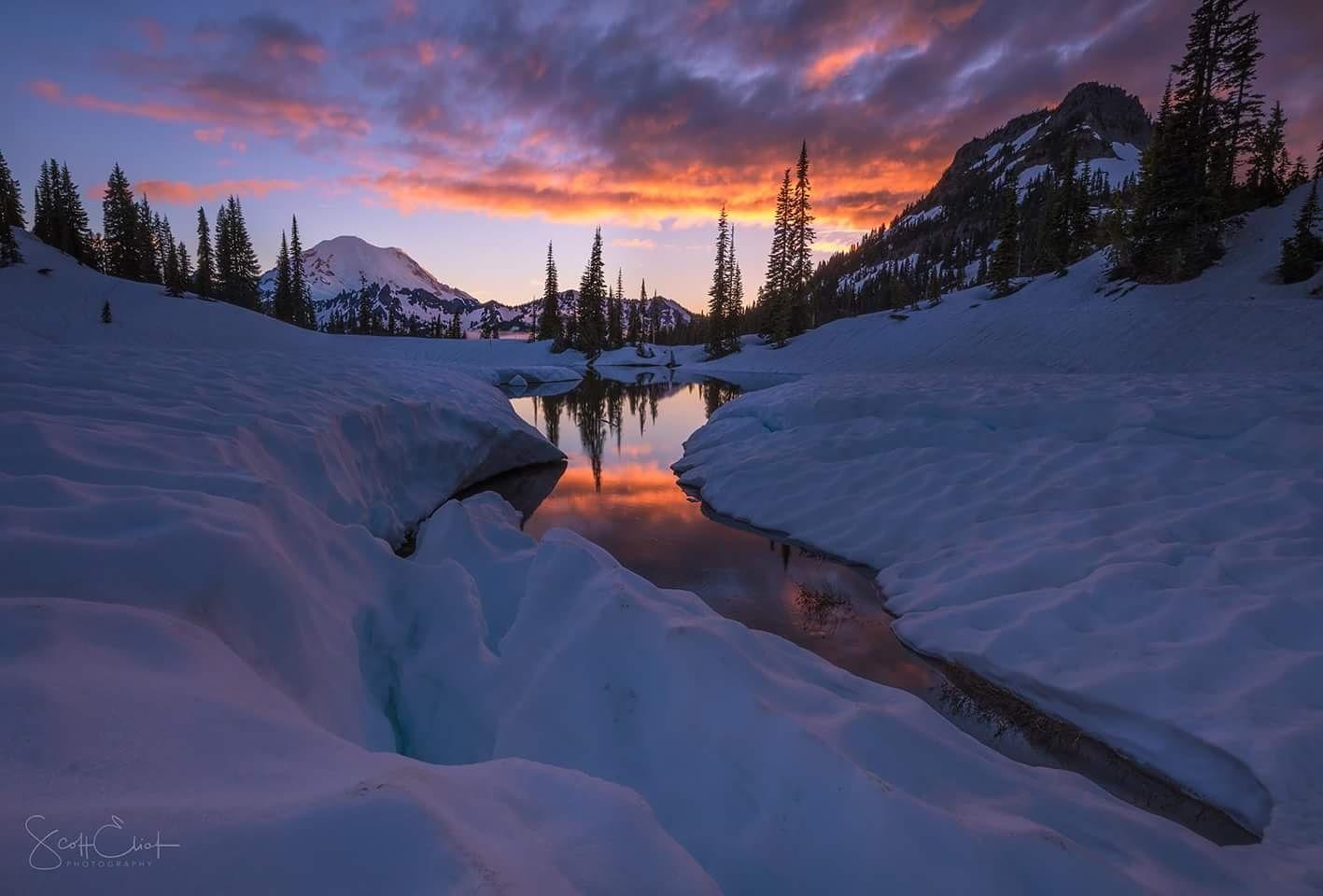 Alpine Spring by Scott Eliot