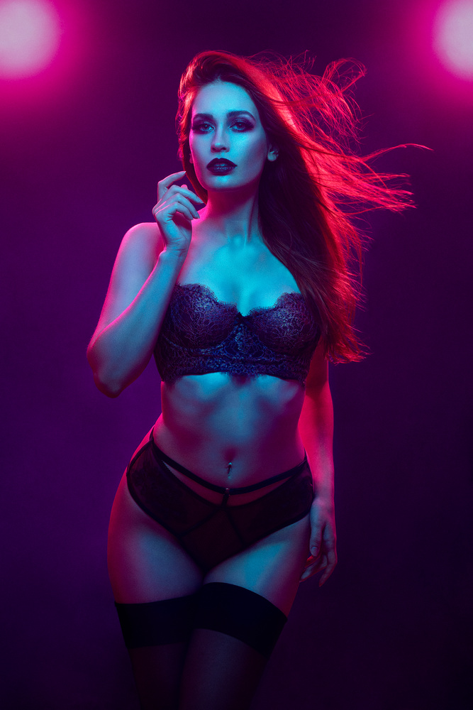 Neon Glam by Emily Moore