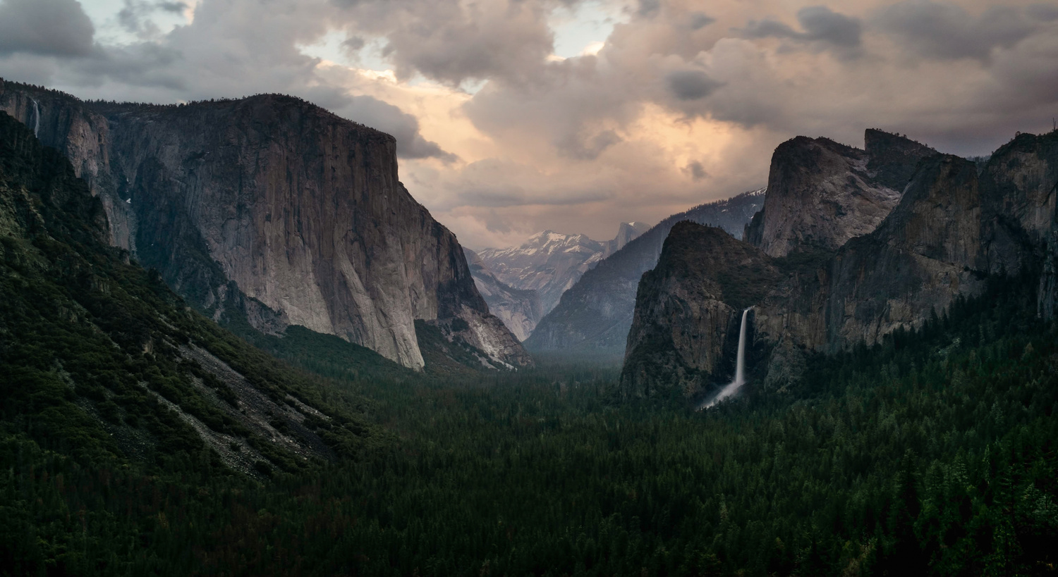 Yosemite Valley Before The Storm  by Joshua Moulton