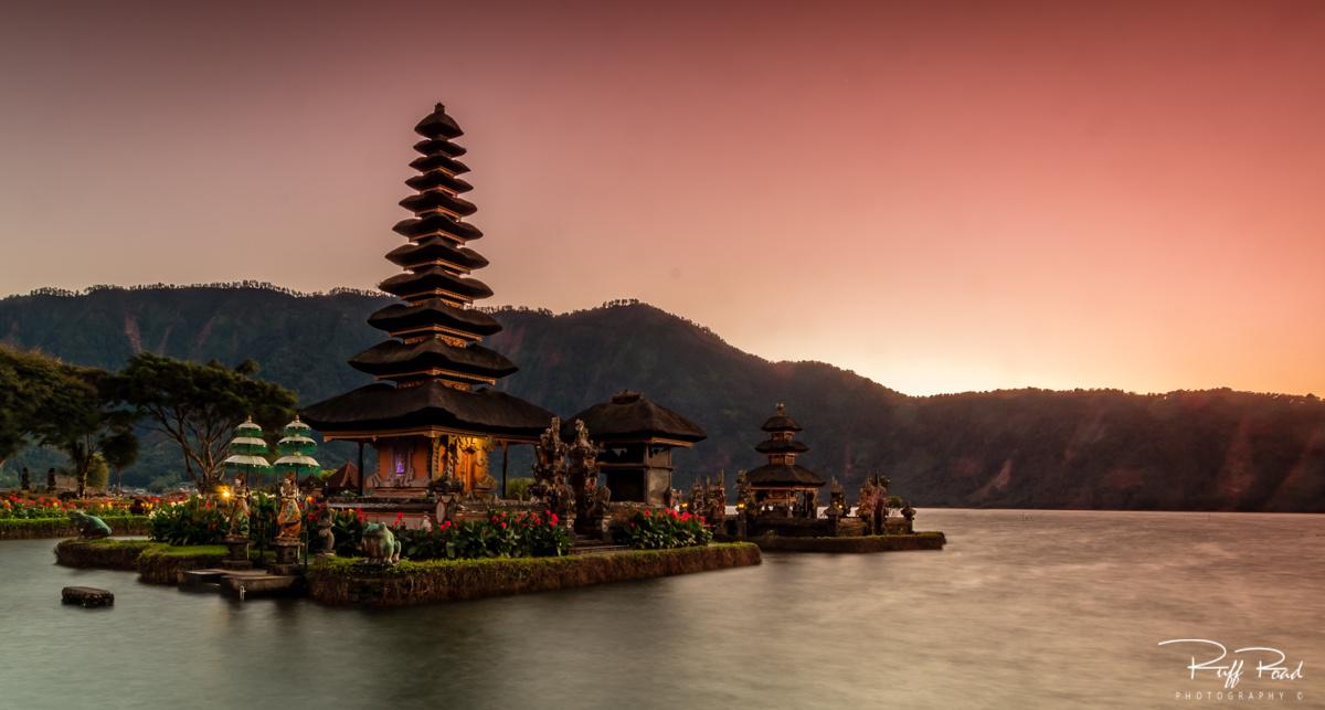 Balinese Temple  by Scott Ruffner