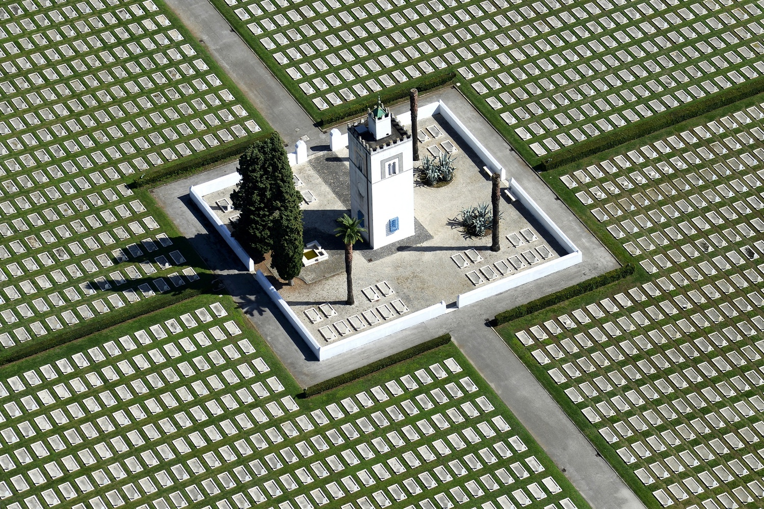 French War Cemetery by Franco Cappellari