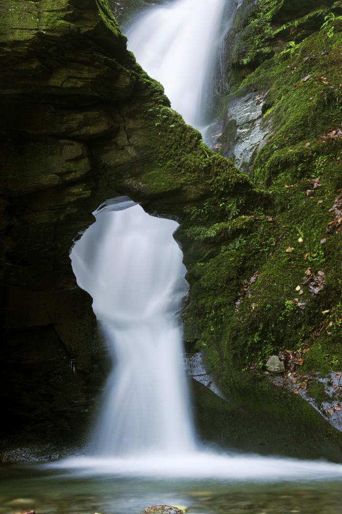 St Nectan's Waterfall by David Wilson