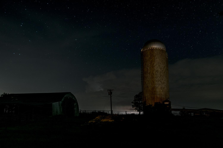 Silo Storm by Koln Wright