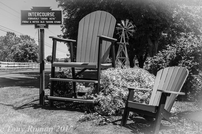 Big & Little Chair by Tony Roman
