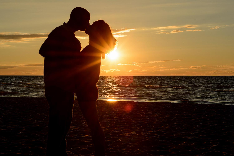 Sunset Engagement by Robert Deak