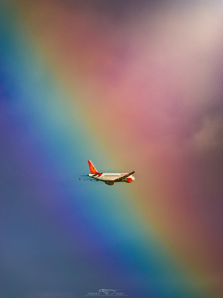 Hitting the Rainbow by TANAY DAS