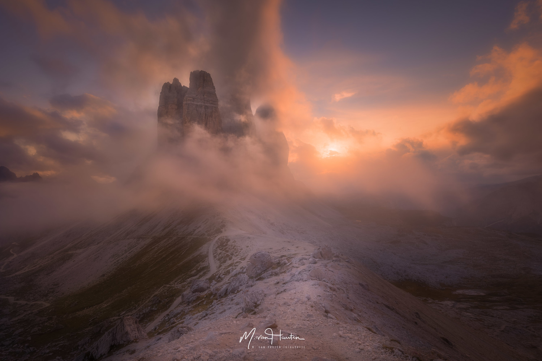 Tre cime di Lavaredo by Markus van Hauten