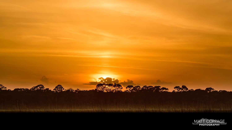 Sunset Over Guana River by Matt Coppage