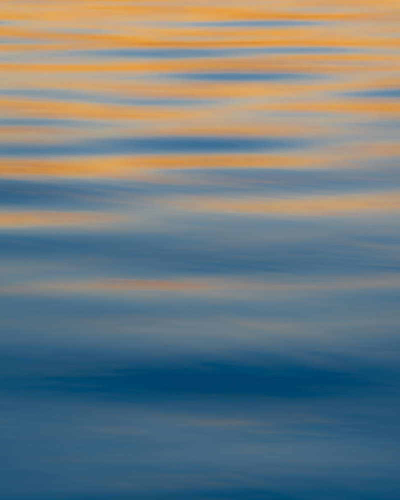 Sunset Reflection on the Water by Matt Coppage