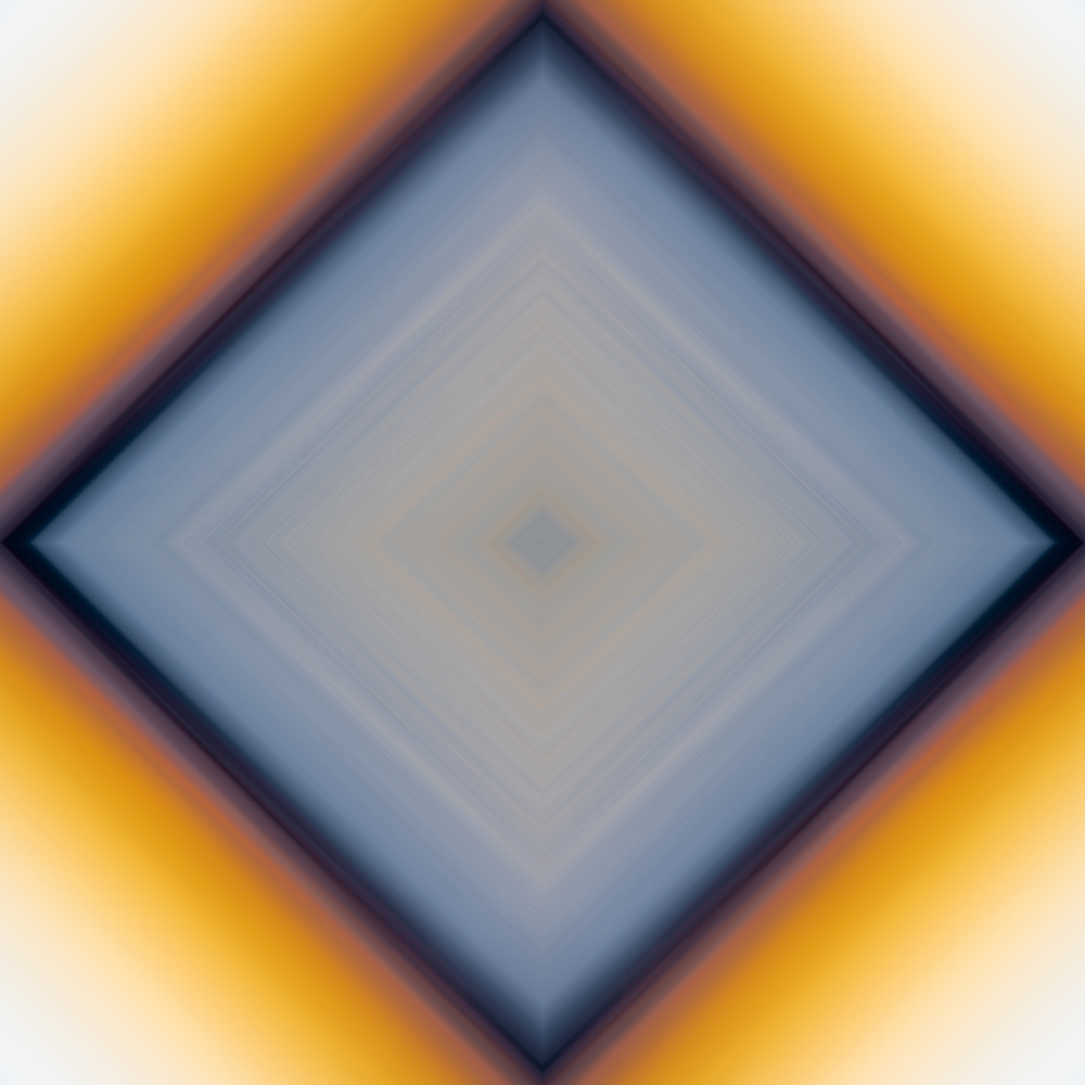 Abstract Sunset Square by Matt Coppage