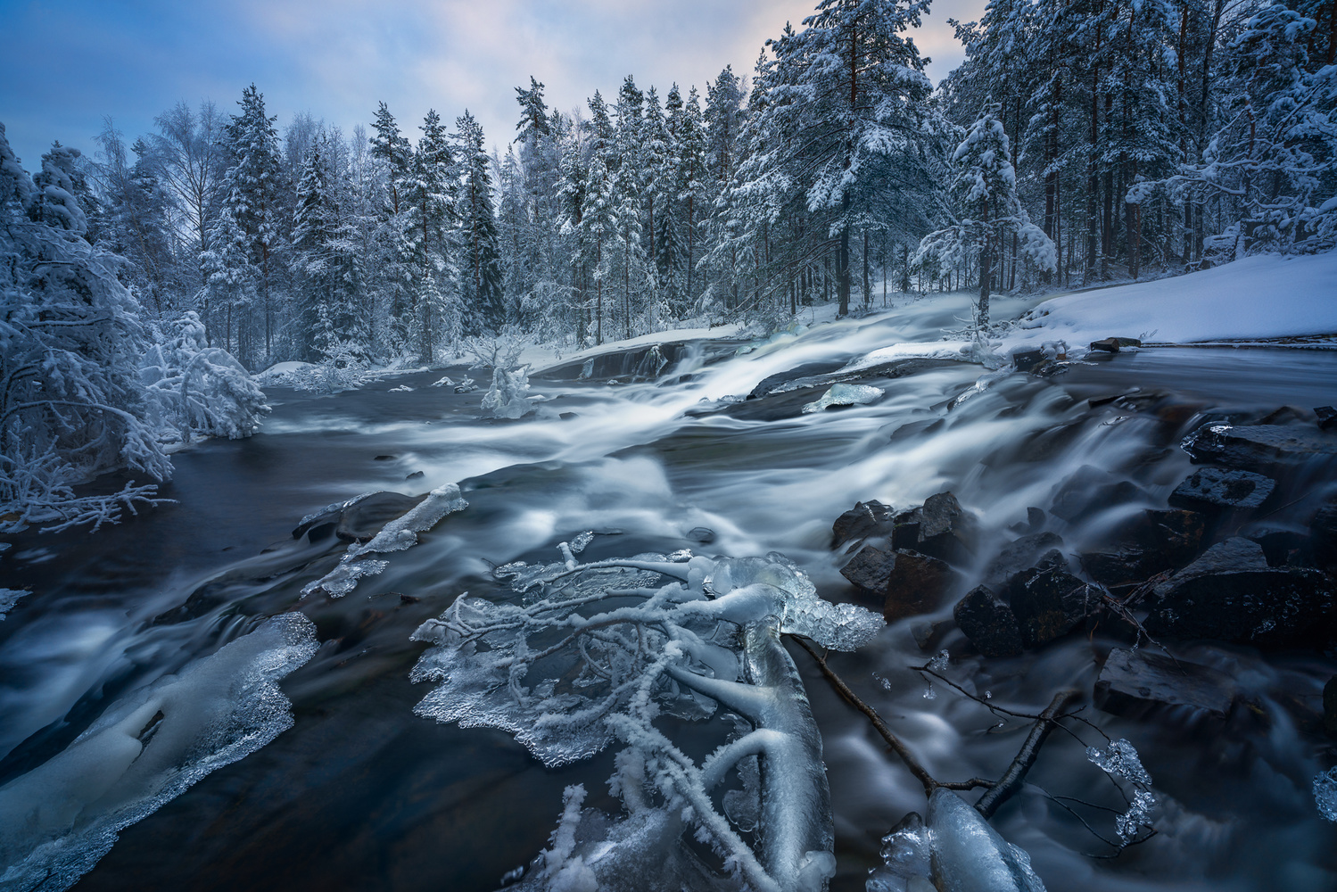 Cold Flow by Ole Henrik Skjelstad