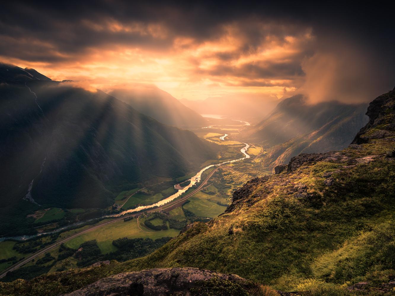 Light from Above by Ole Henrik Skjelstad