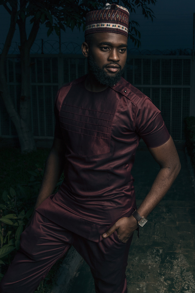 Usman in his Kaftan by Rodney Omeokachie