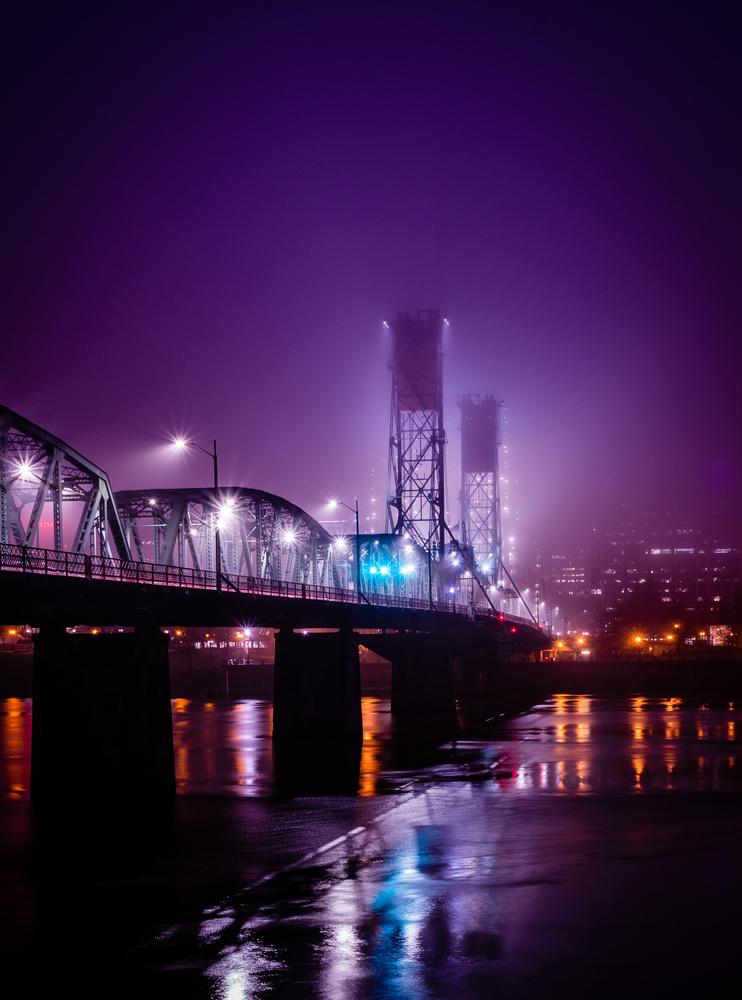 Hawthorne Bridge by Jack Brown