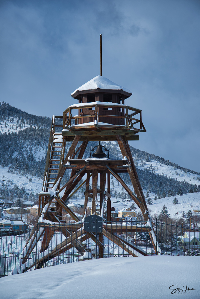 Fire Tower by Steve Meredith