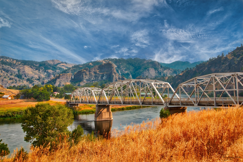 """Canadian Border Bridge"" by Steve Meredith"