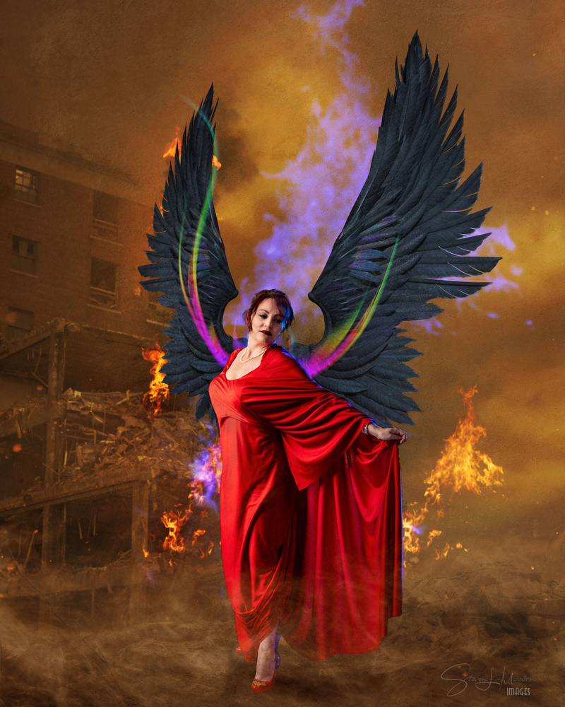 Apocalyptic Angel by Steve Meredith