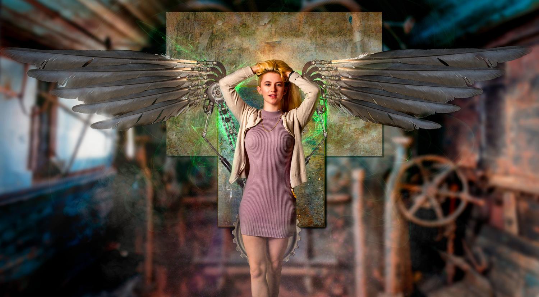Steam Punk Angel by Steve Meredith