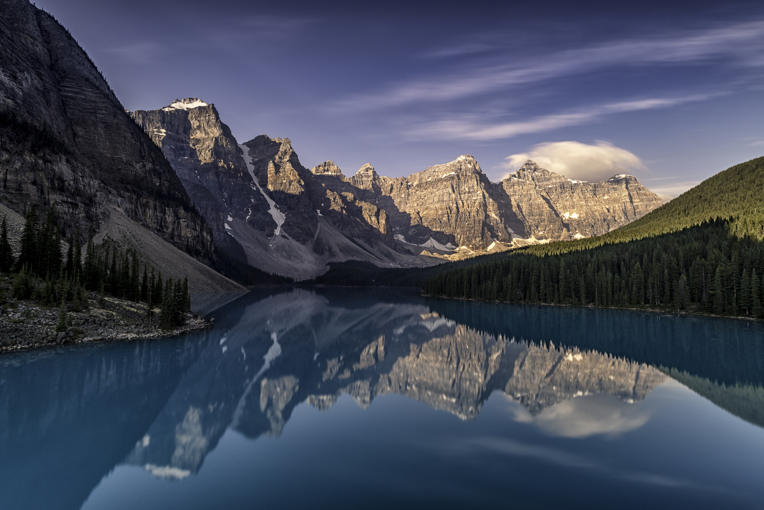 Lake Moraine by Andreas Fink