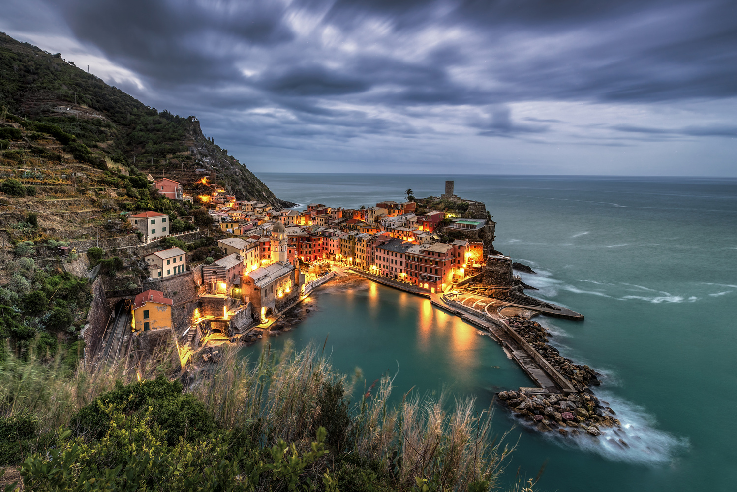 Vernazza by Andreas Fink