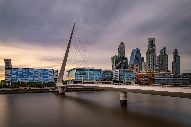 Puente de la Mujer by Andreas Fink
