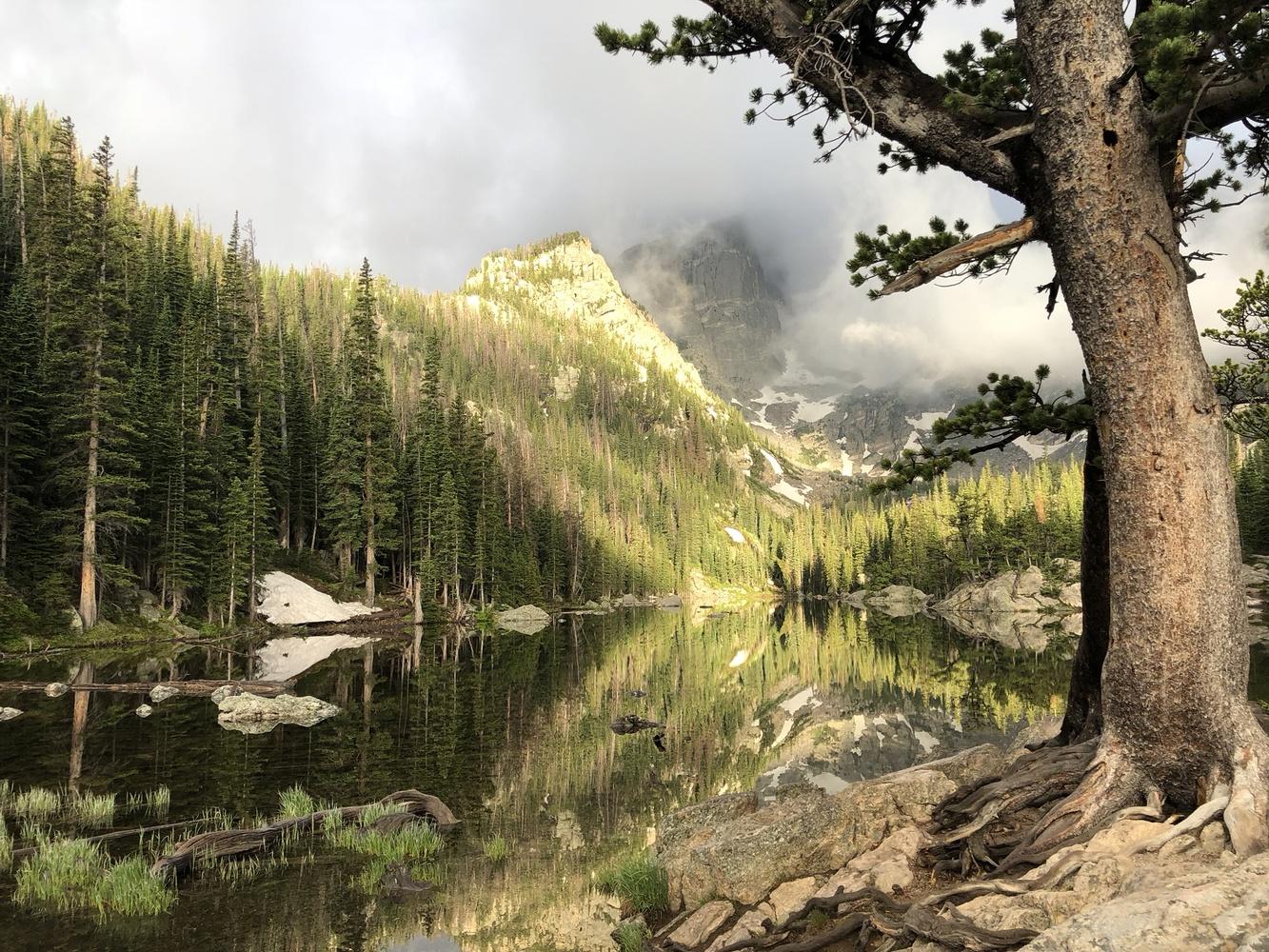 Mountain Lake  by William Varner