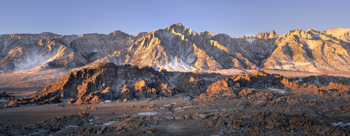 Sunrise Splash on the Eastern Sierra by Ryan Luna