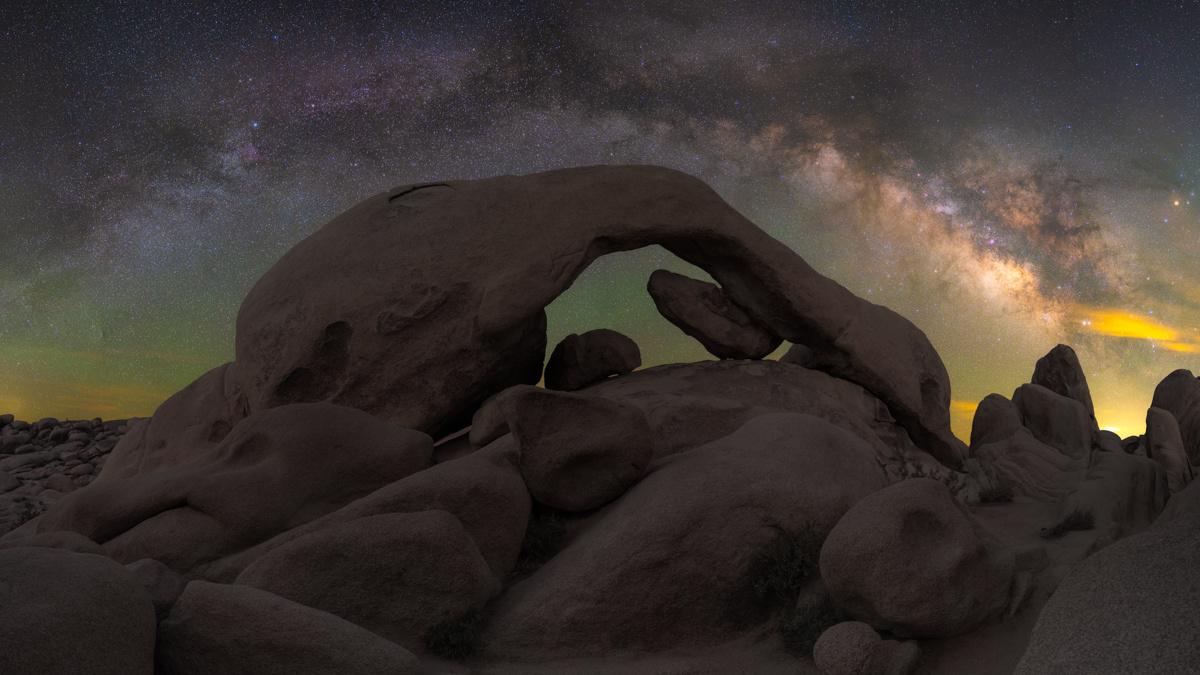 Joshua Tree NP Double Arch by Ryan Luna