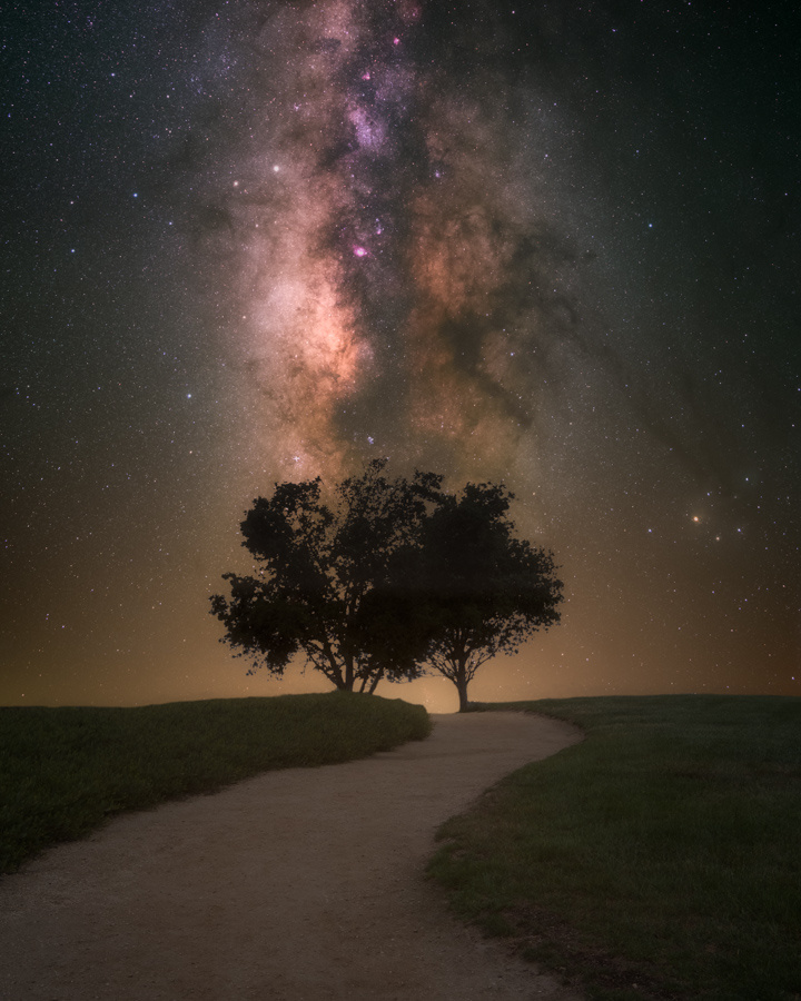 Follow the Milky Way Road by Ryan Luna