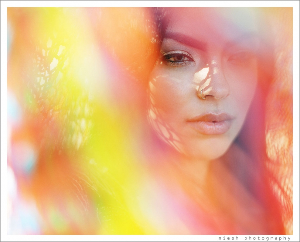 Color Bleed by Miesh Photography