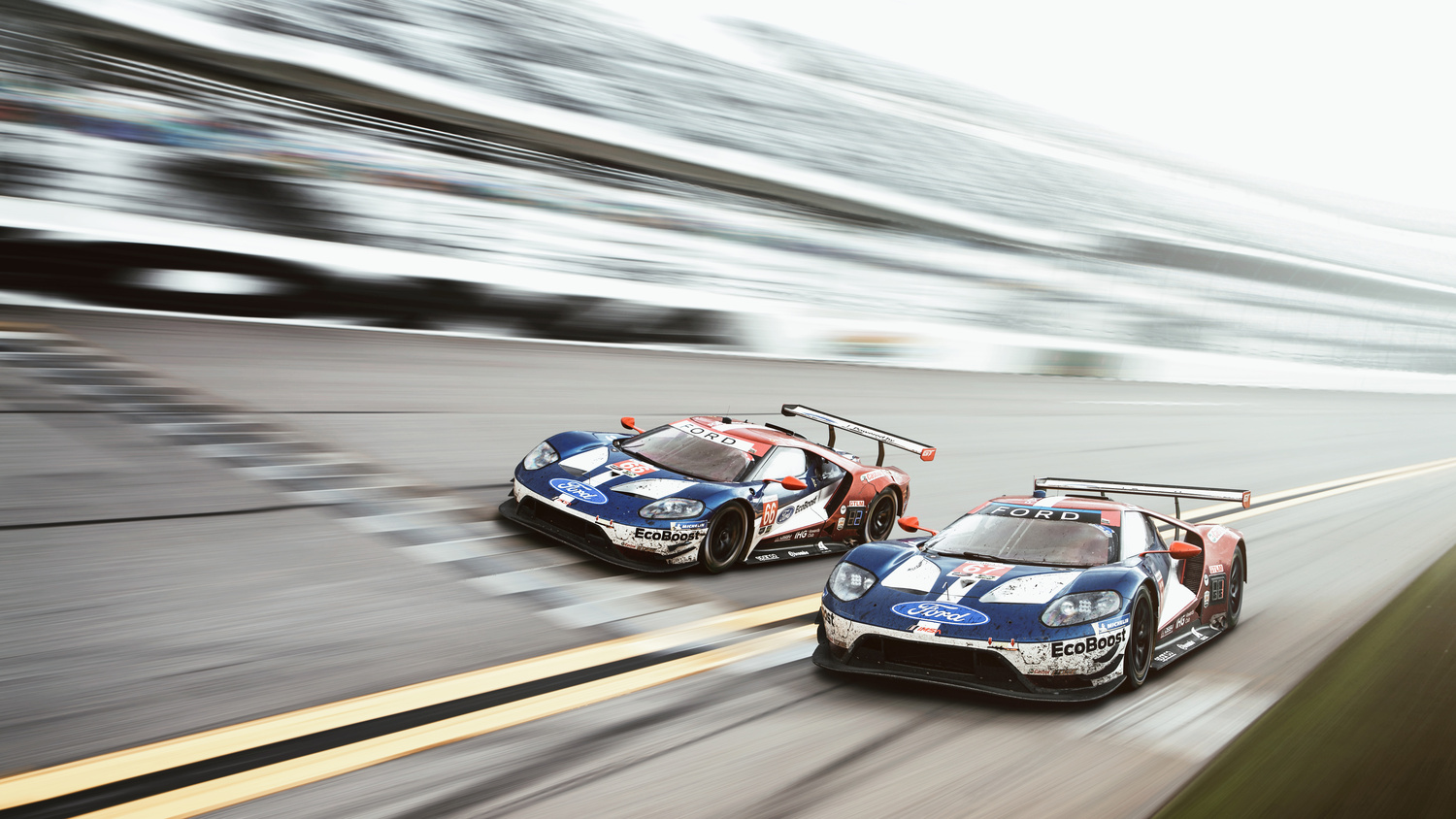 Ford's Rolex 24 at Daytona Victory! by Dominic Mann