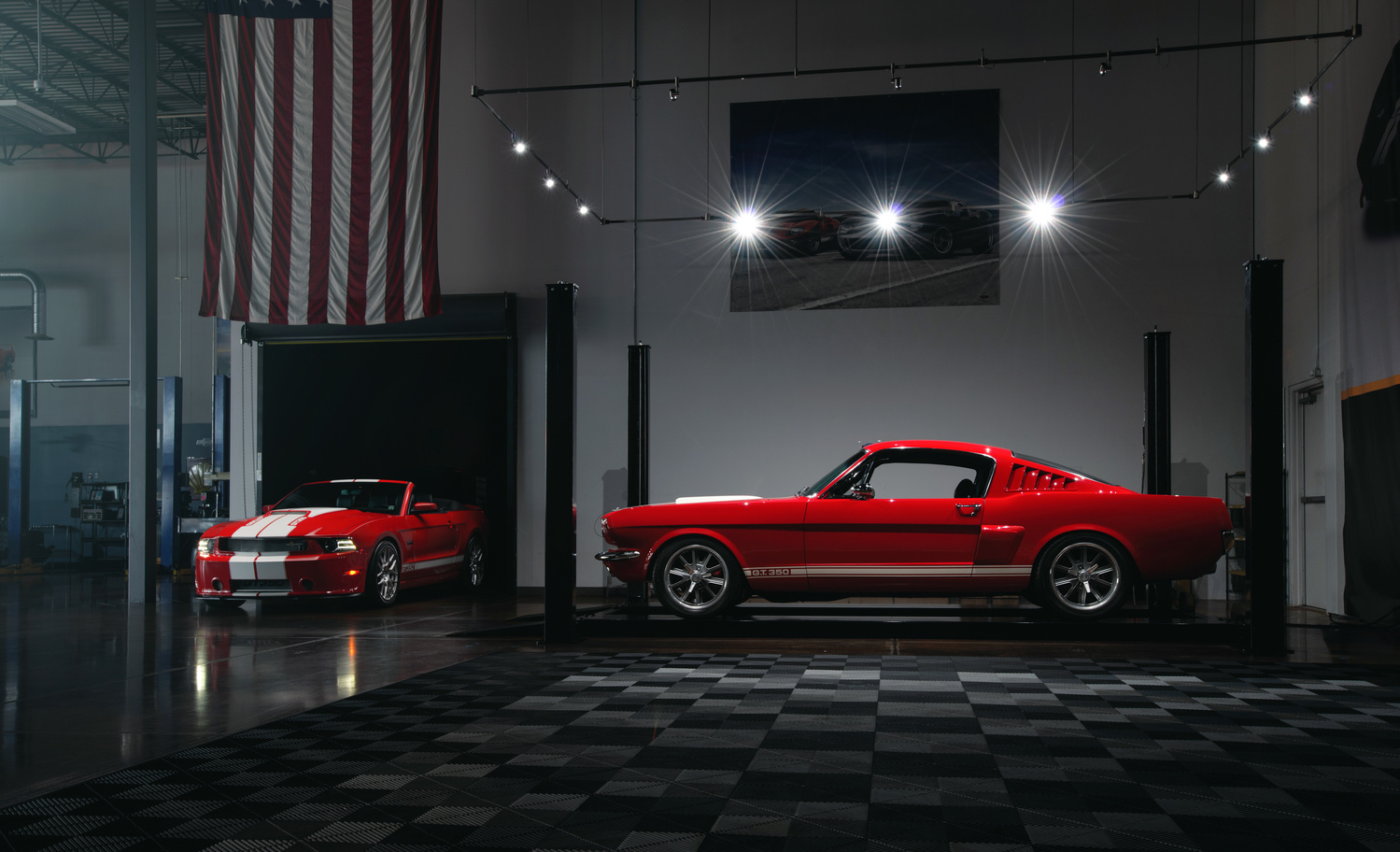 2014/1965 Ford Mustang GT350 by Dominic Mann
