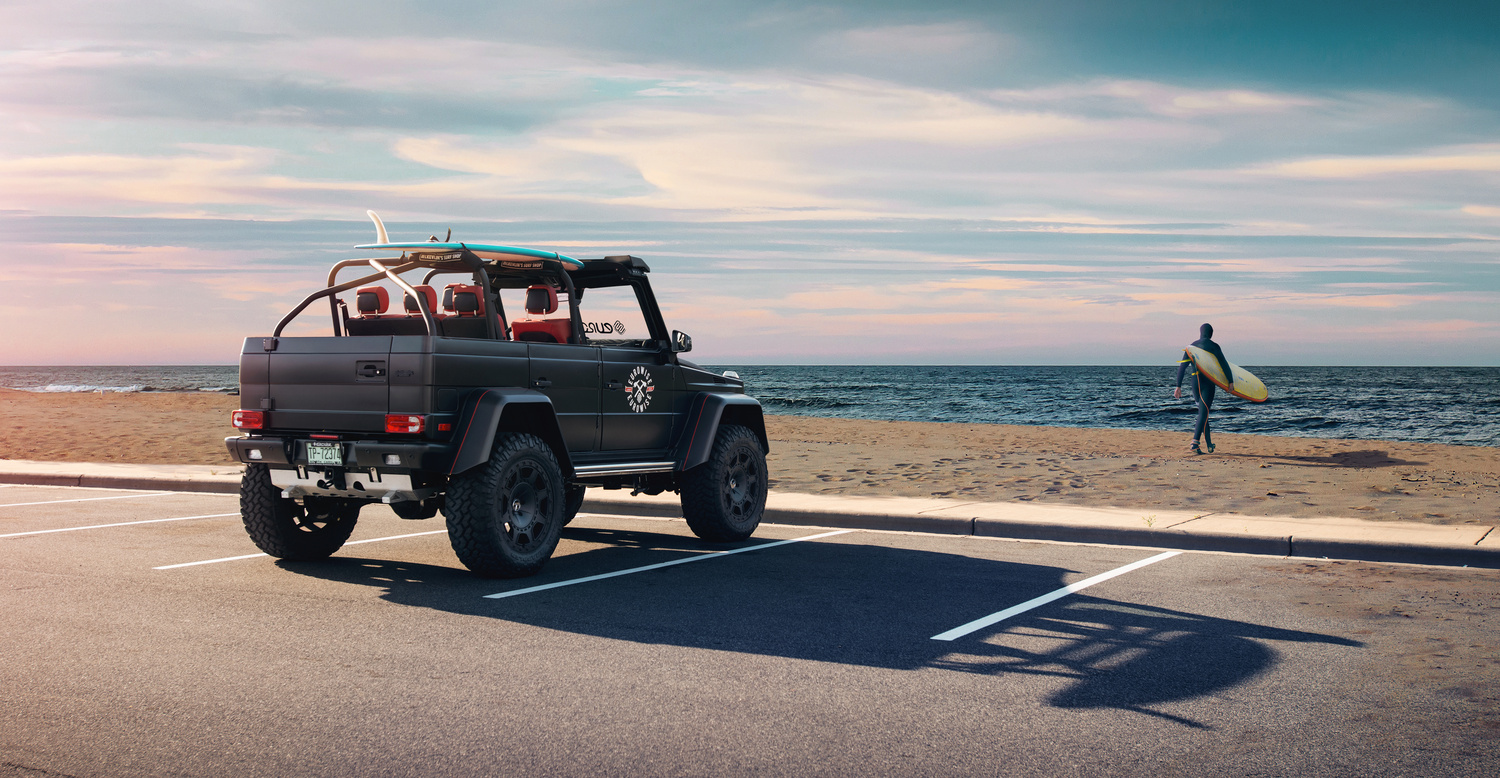 Mercedes-Benz G63 AMG by Dominic Mann