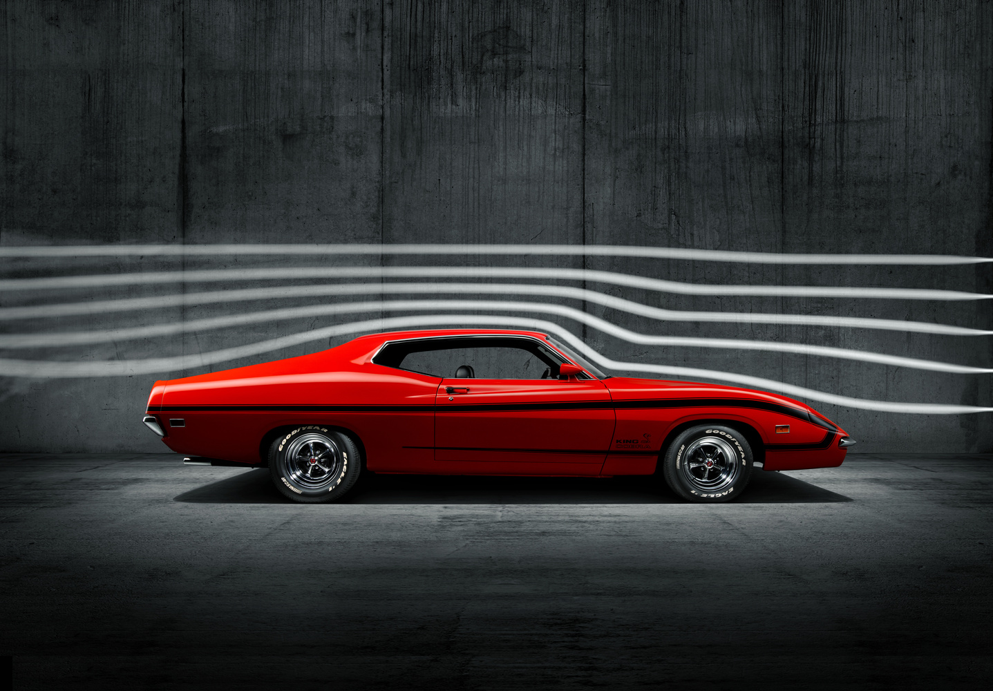 1970 Ford Torino King Cobra Prototype by Dominic Mann