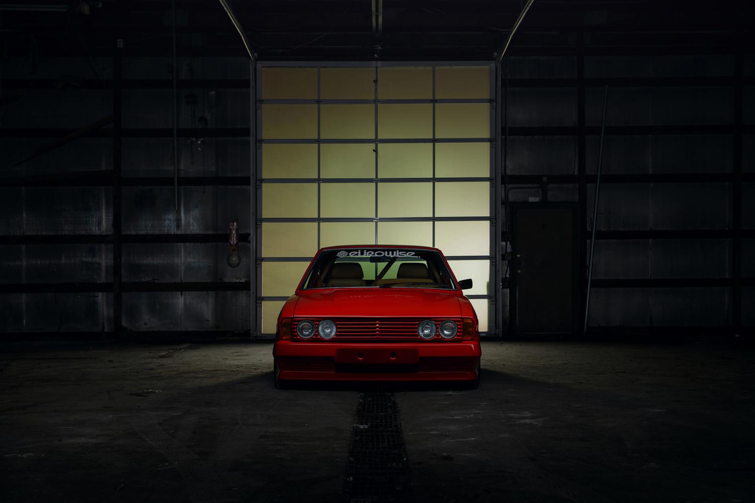 Singer-inspired, Porsche-engined, Volkswagen Scirocco by Dominic Mann