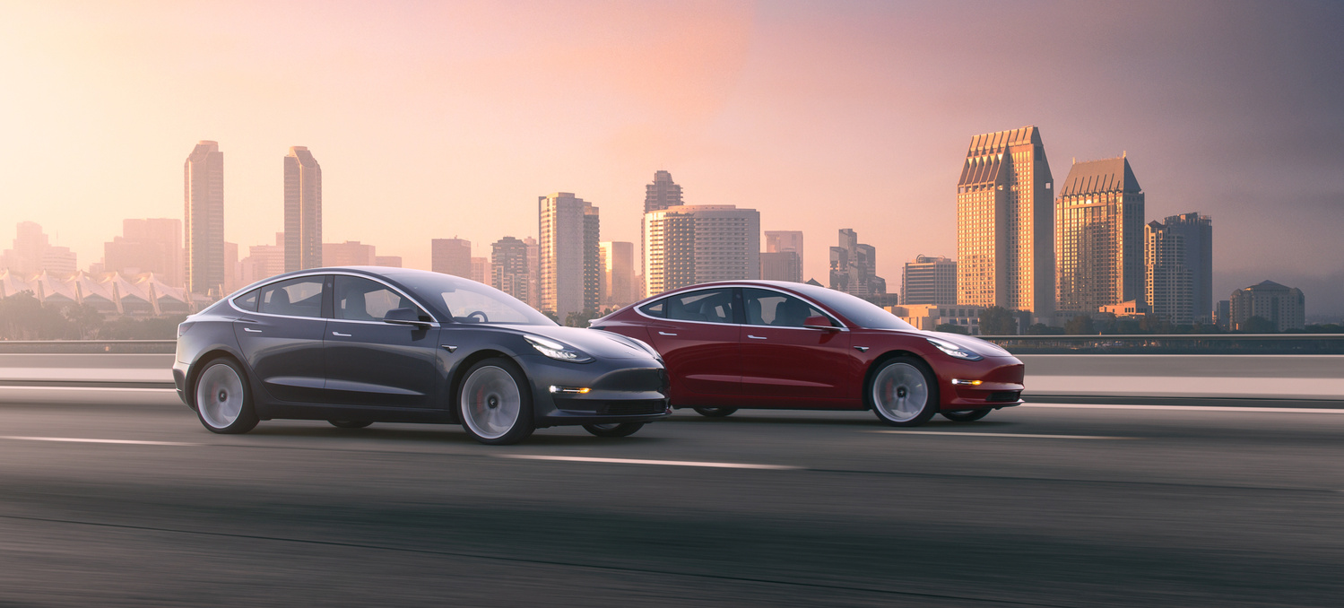 Tesla Model 3 by Dominic Mann