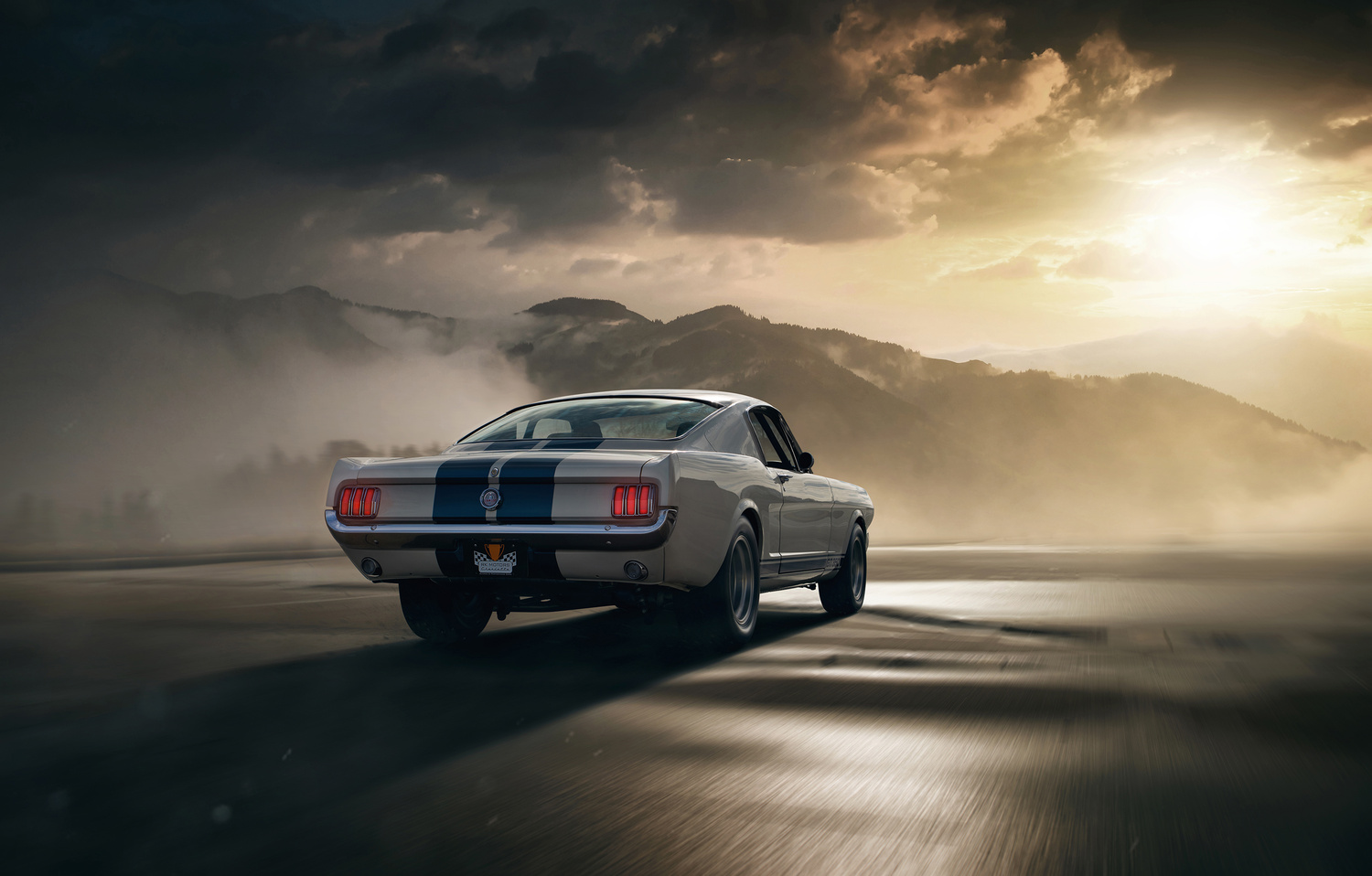 1965 Shelby GT350 by Dominic Mann